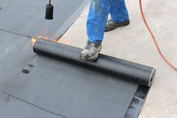 Residential and commercial flat roofs in MI and IL